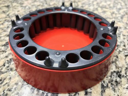 Cinzeiro Anti-fumaça  - 2 Unidades - Vermelho E Preto