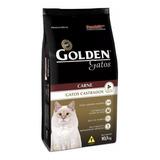 Ração Golden Castrados Premium Especial Gato Adulto Carne 10.1kg