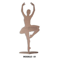 Bailarina Mdf - 50 Cm, Decoração De Festas E Mesas Escultura