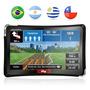 Gps Guia Quatro Rodas Slim Tela 4.3 - Mp3 E Mp4 Player