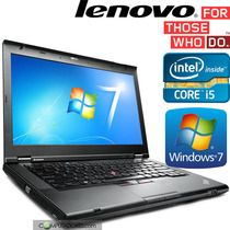 Notebook Lenovo T430 Intel Core I5 3gen 2.6ghz Wifi Win7
