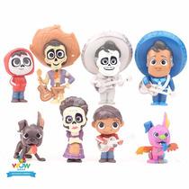 Kit 8 Miniaturas Coco Viva - A Vida É Uma Festa A306