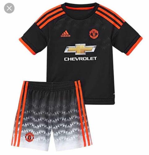 Conjunto Infantil Manchester United 2019 meião Personalizado be3f5eee35af2