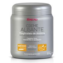 Creme Alisante Tioglicolato De Amônia Médio 500g - Amend