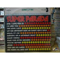 Lp Vinil Disco Super Parada Volume3- Sucessos Internacionais