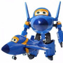 Super Wings Jerome Musical-transformavél  Grande 13cm Aviões