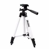 Tripé 1,2m Suporte Universal P/ Camera Digital Nikon Canon