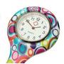Relógio Para Jaleco - Color Circulos - Enfermagem / Medicina