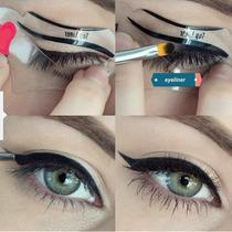 Molde Delineador - Eye Liner Stencil Olho De Gato