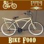 Bicicleta Bike Food - Retro Vintage Cargueira Carga