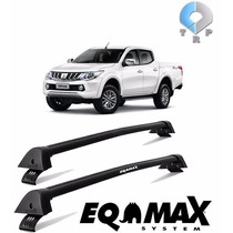 Rack Teto Eqmax Wave Mitsubishi L200 Triton 2015/... Preto