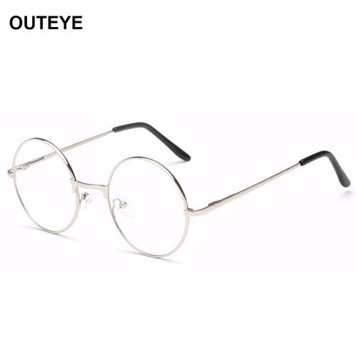f56a0fa4be90d Armação Óculos Metal Redondo Sem Grau Acessório Descanso Bh