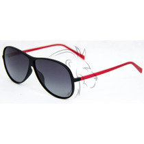 Óculos Estilo Aviador De Sol Unissex Com Uv400