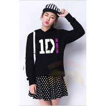 Blusa Moletom Canguru One Direction Feminina - Exclusiva !!!