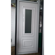 Painel Alto Padrão Alumínio Branco C/ Vidro Estampada
