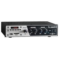 Amplificador Frahm Slim 1000 Usb Fm 30w Rms