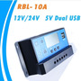 Controlador De Carga Para Painel Solar 10a 12e24v