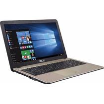 Notebook Dual Core Asus X540sa 4gb 500gb Dvdrw Tela Led 15.6