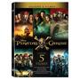 Box Dvd  Piratas Do Caribe 5 Filmes Coleçao Completa Lacrado