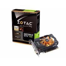 Placa De Vídeo Vga Zotac Geforce Gtx750 1gb Ddr5 128 Bits