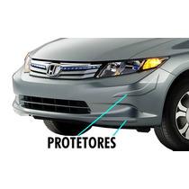 Jgo Frisos Transparentes Parachoques Honda New Civic 13/