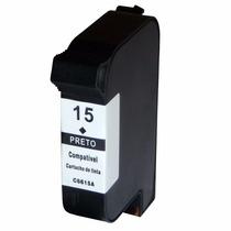 Cartucho Compativel Hp C6615 (15) Novo Importado - 40ml