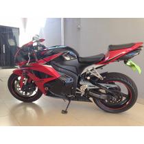 Moto Honda Cbr 600 Rr Vermelha E Preta ** Não Aceito Troca**