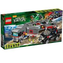 Lego Tartarugas Ninja 79116, Novo, Pronta Entrega