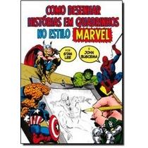 Livro - Como Desenhar Histórias Em Quadrinhos No Estilo Marv