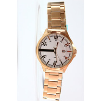 Relógio Lince Dourado Masculino (orient) Mrg4271s S2kx 50m--