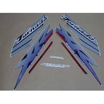 Kit Jogo Adesivos Xr 250 Tornado 2003 Azul - Frete R$9,90