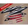 Kit Adesivos Nxr150 Esd Bros 2007 Branca - Resinado - Decalx