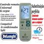 Controle Universal Backlight Ar Condicionado Split Delonghi