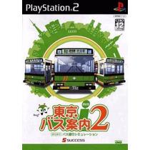 Patch Simulador De Onibus Tokyo Bus Guide 2 Ps2 Frete Gratis