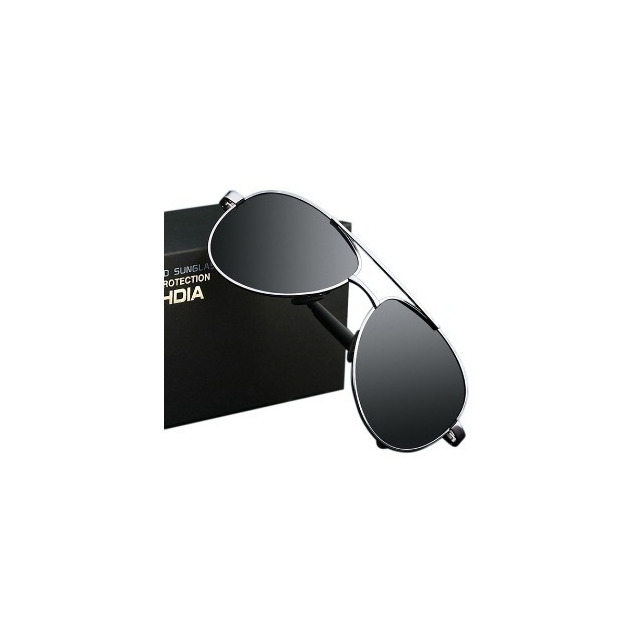 da15a7a5b93df Óculos Aviador Polarizado Veithdia Masculino Feminino Uv400 em ...