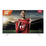 Smart Tv Led 50'' 4k Uhd Tcl P6us 3 Hdmi 2 Usb Wi-fi