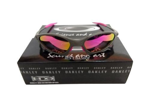 06d2db6de8da6 Oculos Oakley Penny Rosa + Caixa + Saquinho Oakley à venda em Alto ...