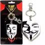 Mascarado V De Vingança Vendetta Chaveiro Metal Dc Comics
