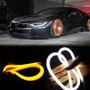 Par Fita Barra 60cm Led Com Seta Lanterna Farol Carros Motos