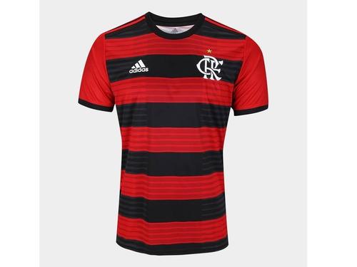 72c7a8e723 Camisa Nova Flamengo I 2018 adidas Vermelha Frete Grátis. R  139.9