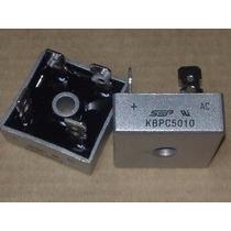 Diodo Ponte Retificadora Kbpc5010 50a 1000v Original