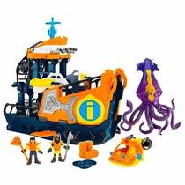 Imaginext Navio Comando Do Mar Novo Na Caixa - Ref.:dfx93