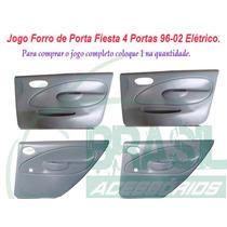Kit Forro Porta Revestimento Fiesta 4 Portas 96/02 Elétrico