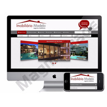 Site Sistema Imobiliaria - Script Php - Com Chat Online