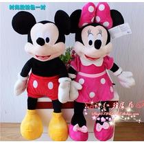 Mickey Ou Minie Vermelha Ou Rosa De 50 Cm Pelucias