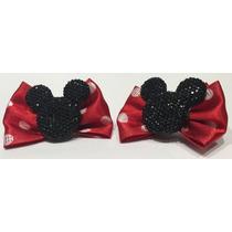 Laço Petit Boucle Mickey/minnie Tradicional - Unidade