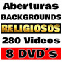 Clips Aberturas De Vídeo E Backgrounds Religiosos Em D V D