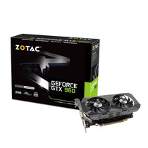 Placa De Vídeo Nvidia Geforce Gtx960 4gb Ddr5 128bits Zotac