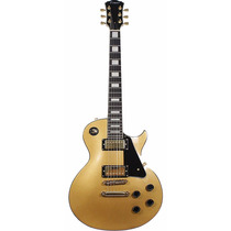 Guitarra Les Paul Benson Prime Lp Gold (com Case)