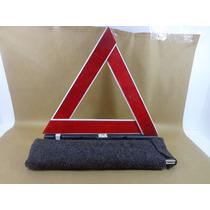 Triangulo De Segurança Para Carros Original Pesado Com Capa